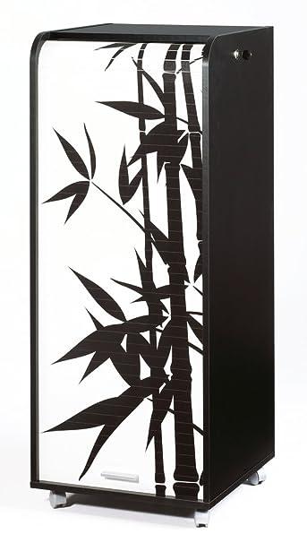 Simmob ORGA110NON912 bambù, 912-Mobile da ufficio, misura grande, Mobile in legno, 47 x 47,2 x 107,6 cm