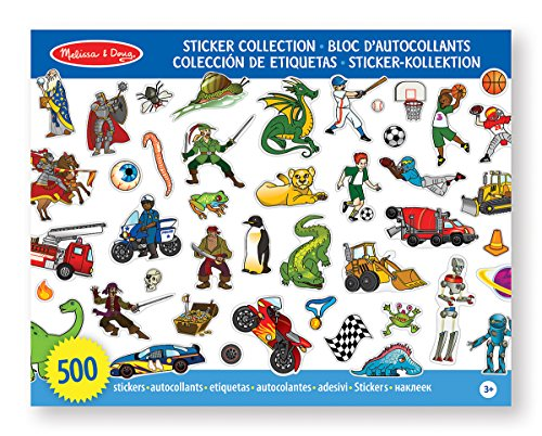 Melissa And Doug Sticker Book front-1047262