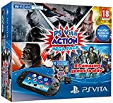 Playstation Vita Console Plus Action Mega Pack Plus 8GB Memory Card (PS Vita)