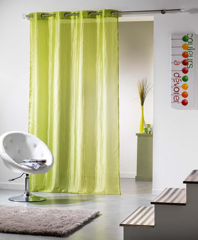 Douceur d&Intérieur 1622842 - Cortina, color verde   revisión y más información