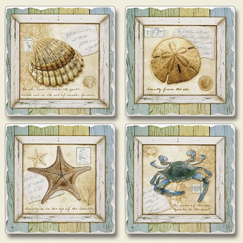 treasures-from-the-sea-4-absorbent-stone-coasters