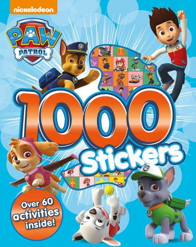 Nickelodeon Paw Patrol 1000 Stickers (Nickelodeon 1000 Stickers)