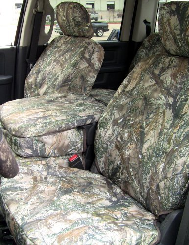 Exact Seat Covers, DG11 MC2-C, 2009-2012 Dodge Ram 1500 and 2010-2012 2500-3500 Front and Rear Seat Set. Front 40/20/40 with Opening Console. Rear Solid Bench Seat. MC2 Camo Endura Custom Exact Fit Seat Covers (Ram 1500 Camo Seat Covers compare prices)