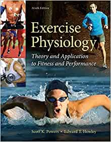 Exercise Physiology 20 choose 10