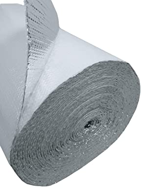 Us Energy Products 16 x 100 White Double Bubble Reflective Foil Insulation Thermal Barrier R8