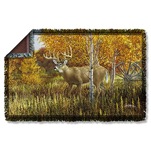 Wild Wings When Color Is King Woven Throw WW372TAP