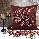 Cushion Casa Cushion Covers (Brown)
