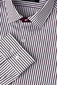 Autograph Pure Cotton Twill Striped Shirt