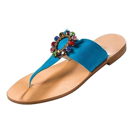 Trotta aMALFI-amendola, sandales femme