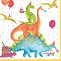 Paper Napkins Lunch Napkins Dessert Napkins Dinosaur Party Supplies