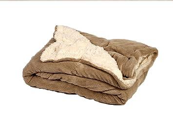 Lora Dora Couvertures en laine douce pour gar/çon 75 x 90cm Rose