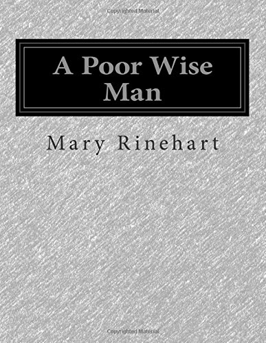 A Poor Wise Man front-179715