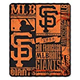 MLB Strength Fleece Throw Blanket 50-inch by 60-inch