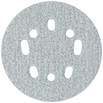 Norton 3X High Performance Hook and Sand Paper Disc with 5 and 8 Universal Vac Hole, Ceramic Alumina, 5