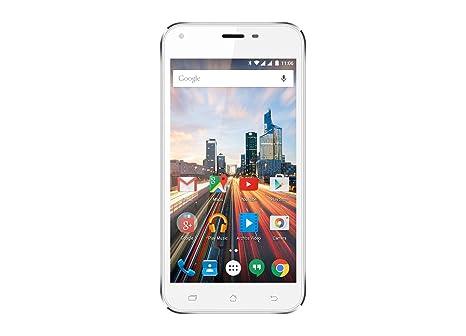 Archos 50 Helium Plus Smartphone débloqué 4G (Ecran: 5 pouces - 8 Go - Double SIM - Android) Blanc