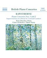 RARawsthorne : Concertos pour piano 1 - 2