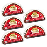 Bread Tree Sicilian Sliced Bruschetta Bread with Sun Dried Tomatoes Pack 450 g (Pack of 5)