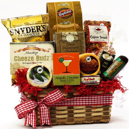 Art of Appreciation Gift Baskets Some Like It HOT!  Spicy Hot Gift Chest