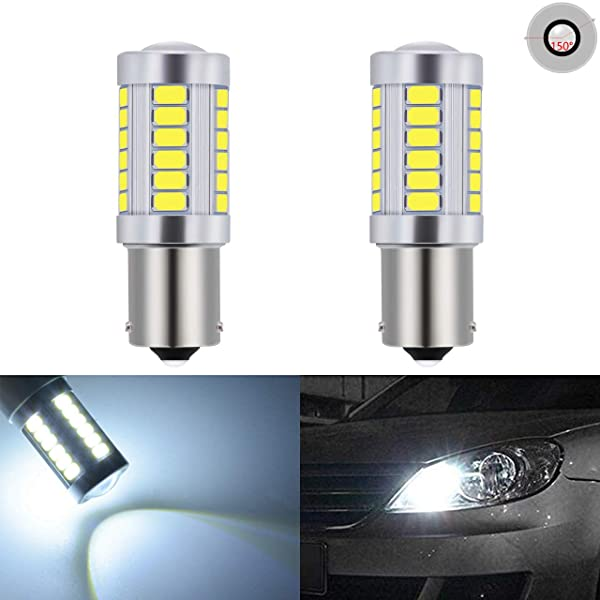 1157 High Power 5630 Chip Projector LED Turn Signal Brake Tail Stop Light Bulbs