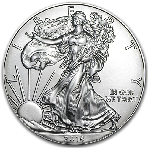 2016 American Eagle Silver Coin 1 oz 999 Fine Silver $1 Brilliant Uncirculated New