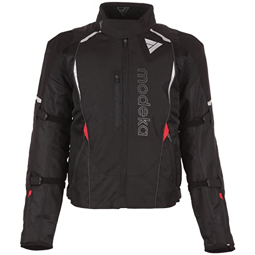 Modeka rOMA eVO veste de moto sport-noir