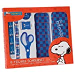 Snoopy Peanuts 7teiliges Schreibset S...
