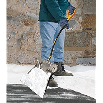 True Temper 20-Inch Aluminum Combo ErgonomicSnow Shovel - 1613400