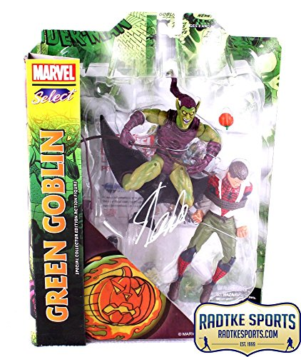 Stan Lee Autographed/Signed Marvel Select Green Goblin In-Box Action Figure