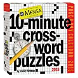 Workman Publishing Mensa 10-Minute Crossword Puzzles Page-A-Day