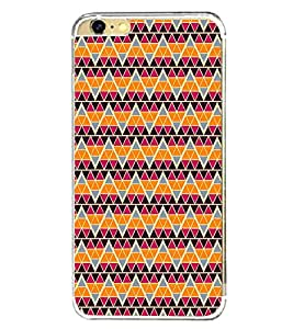 Colourful Pattern 2D Hard Polycarbonate Designer Back Case Cover for Apple iPhone 6S