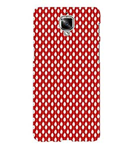 EPICCASE funky drops Mobile Back Case Cover For OnePlus Three (Designer Case)