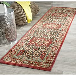 Safavieh Mahal Collection MAH625D Red Runner, 2 feet 2 inches by 6 feet (2\'2\