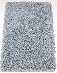 6\'x7\' Showbiz Silver Screen Ultra Shag | Ultra Colorful Indoor Area Rug