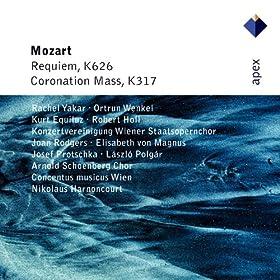 Mozart : Requiem & Mass No.16, 'Coronation' - Apex