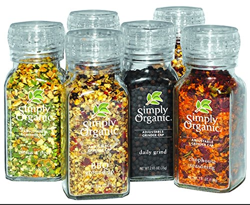 Simply Organic Whole Mixed Spices in Grinder