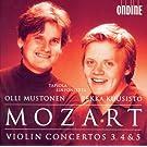 Mozart, W.A.: Violin Concertos Nos. 3-5 To