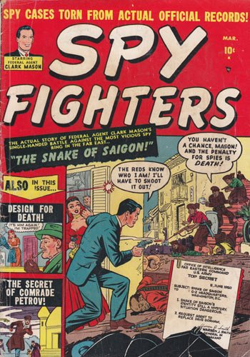 Comics - Spy Fighters #1 Comic Book (Mar 1951) Very Good