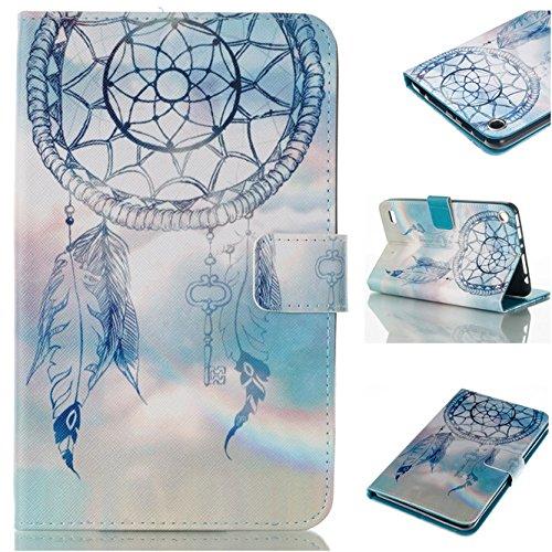 fire-7-2015-case-enjoy-sunlight-dream-catcher-ultra-lightweight-slim-folio-leather-wallet-cover-case