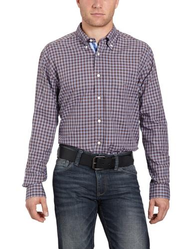 Gant Men's 382610 Casual Shirt Brown (Espresso) 50