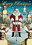 Pogo Sticks Pack of 5 Large Christmas Cards by Max Hernn