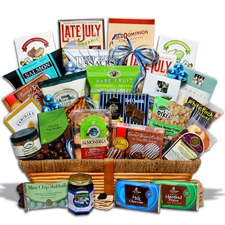 Kosher Hanukkah Cornucopia? Gift Basket