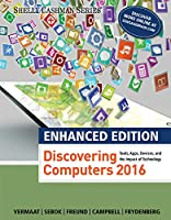 Enhanced Discovering Computers 2017 Front Cover