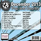 All Star Karaoke December 2013 Pop and Country Hits A (ASK-1312A)