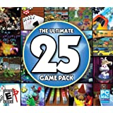 The Ultimate 25 Game Pack Jewel Case PC & Mac - Encore Software
