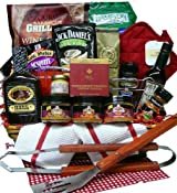 Grilling Creations Spice it Up Right BBQ Sauce & Fixins' Gift Basket - The Perfect Gift For Him!