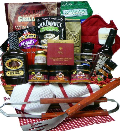 Art of Appreciation Gift Baskets Grilling Creations Spice it up Right BBQ Sauce and Fixins Set image