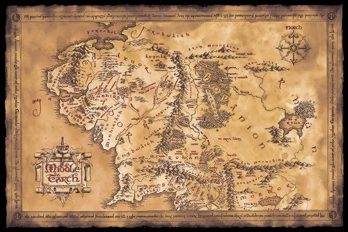 Buy Middle Earth Map Now!
