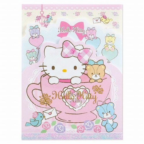 [Hello Kitty] Fit note memo 3-Note diaries