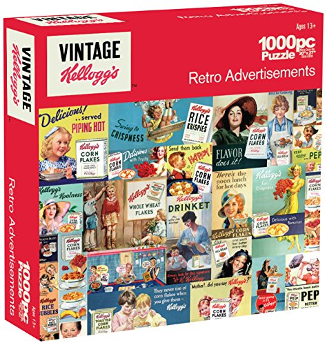 Karmin International Kelloggs Retro Advertisements Puzzle (1000-Piece)