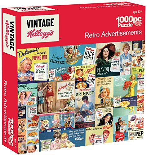 Karmin International Kelloggs Retro Advertisements Puzzle (1000-Piece)